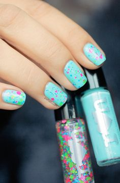 Jawbreaker nails-cute for summer
