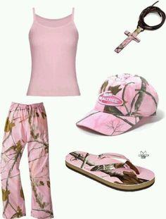 Pink realtree