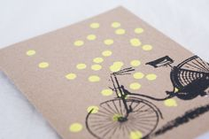 Small hand printed notebook
