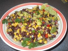 Haitian Black Bean Salsa | California Avocado Commission