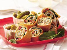Turkey-Spinach Wraps