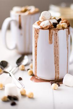 Nutella hot chocolate | Cafe Delites