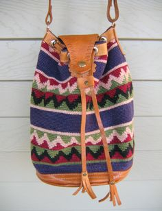 Southwest Bucket Bag