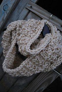 round infinity scarf!