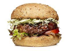 Garden Burgers #FNMag #myplate #protein #veggies #grains