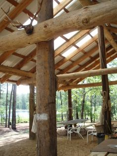 Pole barns are versatile with their materials, great for the handy man!