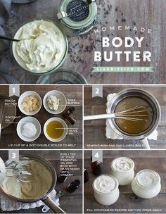 Body Butter Tutorial