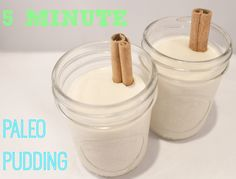 Five Minute Paleo Pudding