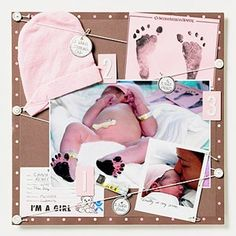 Baby scrapbook. Gonna do this.