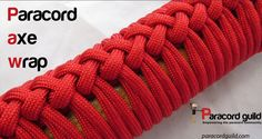 Here's a paracord project for the aspiring lumberjack: Make your own Paracord Axe Wrap (via ParacordGuild) http://www.paracordguild.com/make-paracord-axe-handle-wrap/ #paracord #axe #wrap #lumberjack #outdoor #survival #prepper #craft #diy