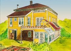 The Integral Urban House  A Victorian mansion in Berkeley California is converted into an urban homestead.