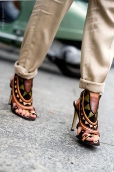 Tribal & shoes