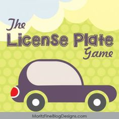 This free printable License Plate game is perfect for your family road trip.  Print a copy for each passenger and start checking out license plates!  GAME ON!