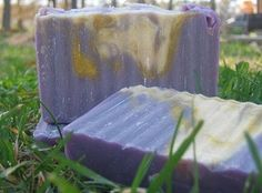 This is my White Tea and Ginger Soap.  It's my top favorite seller now.