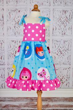 Custom Lalaloopsy Ruffle Dress by mghtaswelldance on Etsy, $36.00
