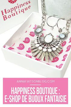 Bijoux fantaisie Happiness Boutique #jewelry #bijoux