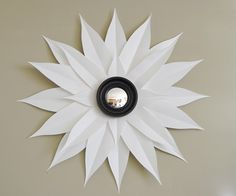 Inexpensive DIY, sunburst mirror