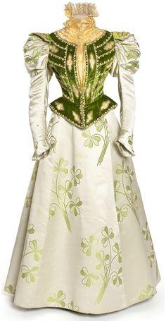 Dress, ca 1897 France, Les Arts Décoratifs