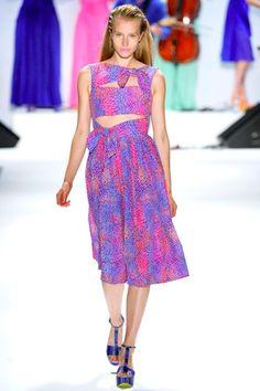 Nanette Lepore S/S 2012 Fashion Show Review