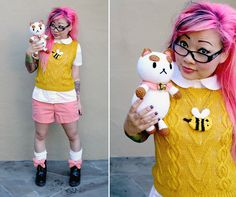Free Crochet Pattern + WIWT: Bee and PuppyCat!