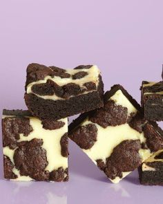 Black-and-White Cheesecake Squares Recipe