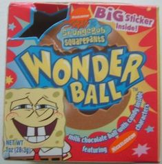 What's inside a wonder ball? Magic. And Nestle killed my childhood in 2004.