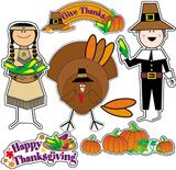 """Checkout the """"Thanksgiving Bulletin Board Set"""" product"""