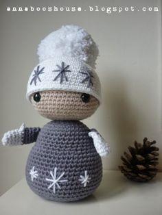 Annaboo's house: Free Winter Dolls Pattern