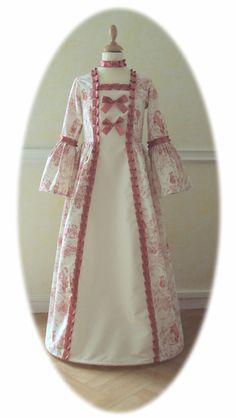 Robe deguisement de Prince Trianon    Princess dress Trianon from Marie-Antoinette