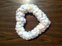 Seashell Memory Wreath
