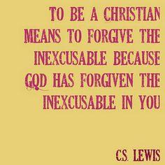 Forgiveness.♥
