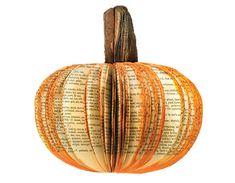 Make a Paperback Pumpkin