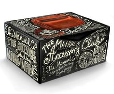 the manual co. package design - love the hand-drawn type!