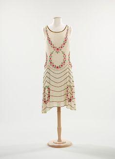 Evening Dress (French) circa 1925