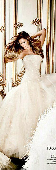 Gisele Bundchen ~ 24-hour Couture Gown <3