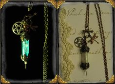 Glow in the dark enchanted copper fillable by enchantedrosedesigns, $24.95