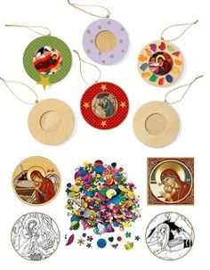 Orthodox Christian Education: Christmas Orthodox Craft Ornaments