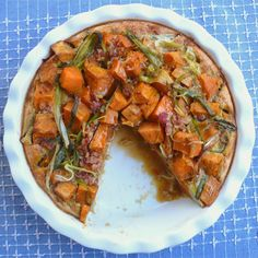 Sweet Potato Quiche – The Foodee Project