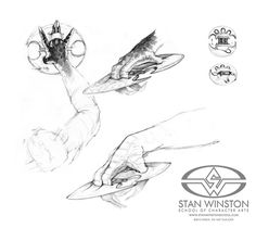 Stan winston predator concept art