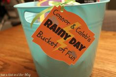 Rainy Day Bucket of Fun