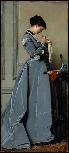 Penelope (1868) - Charles-Francois Marchal