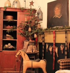 Primitive Christmas ideas....beautiful!