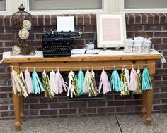 Project Nursery - Twinkle Twinkle Little Star Shower- Activity Table