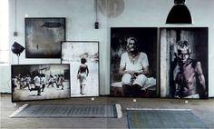 oversized portraits