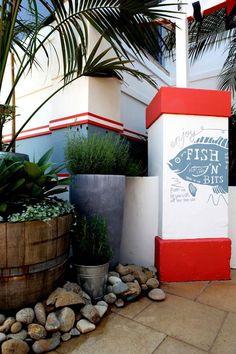 Entrance at Watson's Beach Bar.