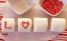 Easy Valentine's Day Marshmallows