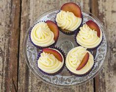 Elderflower, plum and cardamom cupcakes recipe