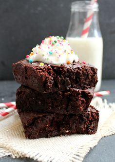 5 Ingredient Hot Cocoa Mix Microwave Brownies