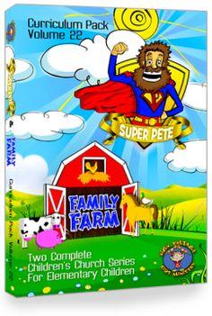 "Curriculum Pack  Vol. 22:  ""SUPER PETE"" & ""FAMILY FARM"""