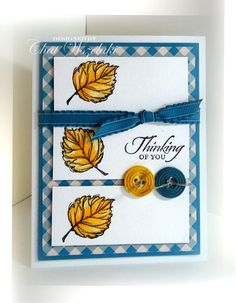Gently Falling , Stampin' Up
